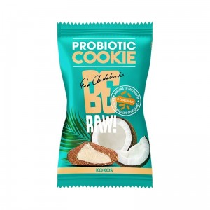 BeRaw Probiotic cookie KOKOS 20g Purella Superfoods