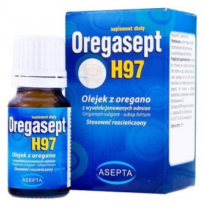 Oregasept H97 olejek z OREGANO 100ml Asepta