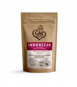kawa INDONEZJA FLORES ziarnista  250G Cafe Creator
