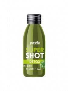 supershot DETOX Purella IMBIR + MORINGA  60ML Purella Superfoods