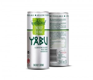 YABU natural ENERGY DRINK 250ML lasad ZGRZEWKA 24szt