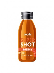 supershot ENERGY Purella IMBIR + GUARANA    60ML Purella Superfoods