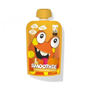 smoothie GIBEK marchew banan dynia 100ml BeRaw KIDS
