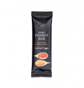 BATON POCKET ENERGY BAR MARCHEW & POMARAŃCZA 35G FOODS BY ANN