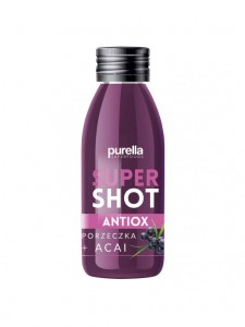 supershot ANTIOX Purella PORZECZKA + ACAI   60ML Purella Superfoods