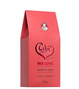 kawa MIX LOVE ziarnista    250G Cafe Creator