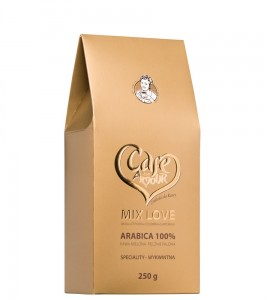 kawa MIX LOVE mielona   250G Cafe Creator